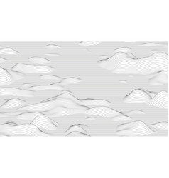 Trendy ultra thin striped backdrop with wave vector