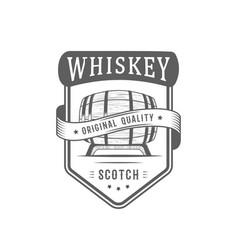 Whiskey logotype vector
