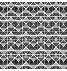 Triangluar retro pattern vector image