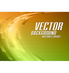 Abstract Curve vector image vector image