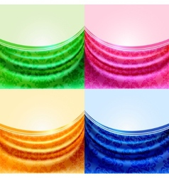 drapes vector image vector image