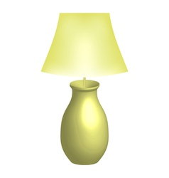 lamp vector image vector image