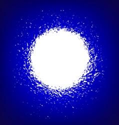 Bright flash vector