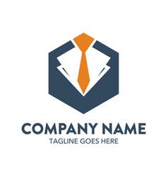 Businessman logo-7 vector