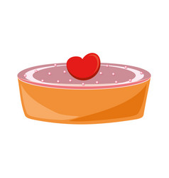 Cake icon image vector