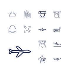 Commercial icons vector