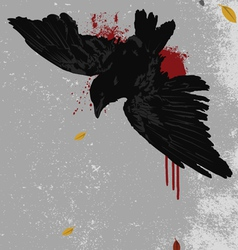 dead bird vector image