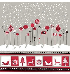 Decorative Winter Background vector
