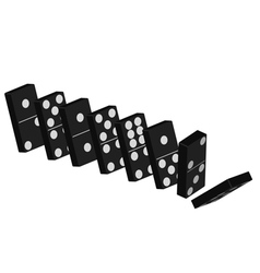 Domino effect vector