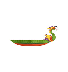 Dragon boat chinese traditional festival vector