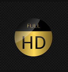 Full hd label vector