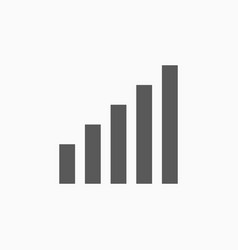 signal icon vector image