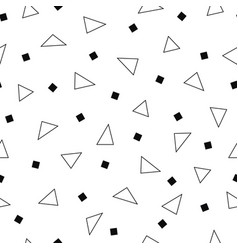 simple seamless pattern with geometric vector image