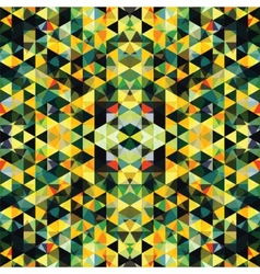 Triangular Mosaic Colorful Background Abstract vector