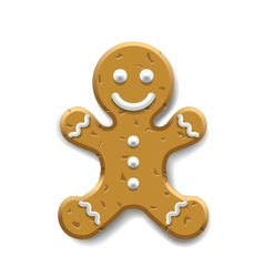 Ginger bread vector image