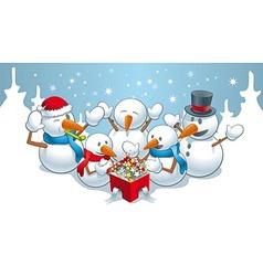 Magic for snowmens vector image