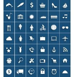 Mega Set of Flat Icons vector image vector image
