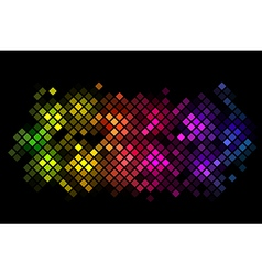 abstract background with colorful lights vector image