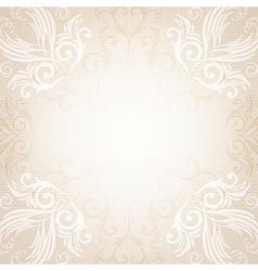 Abstract menu design vector image