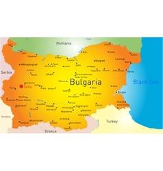 Bulgaria vector image