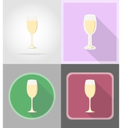 celebration flat icons 07 vector image
