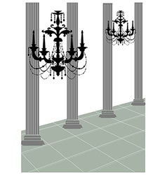 Chandler Roman Column vector image