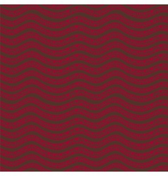 Ethnic wavy hand drawn seamless pattern vector image
