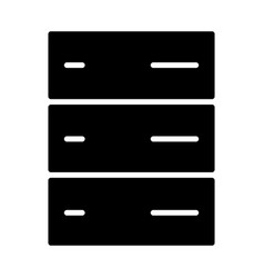 server icon simple minimal 96x96 pictogram vector image