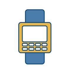 Smartwatch icon image vector
