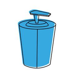 soap dispenser icon image vector image