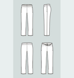 sport pants vector image