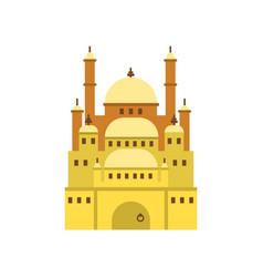 cairo citadel ancient egypt symbol vector image