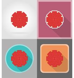 celebration flat icons 09 vector image