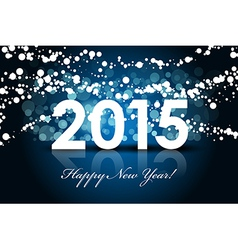 2015 - Happy New year background vector