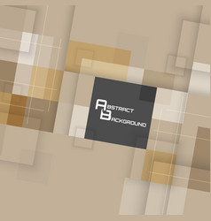 Abstract business background with square pattern vector