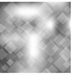 abstract gray transparent square background vector image