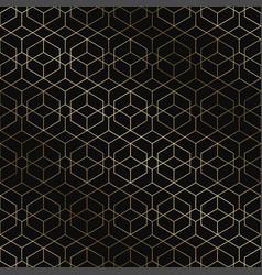 art deco geometric pattern - seamless vector image