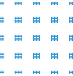 cargo box icon pattern seamless white background vector image