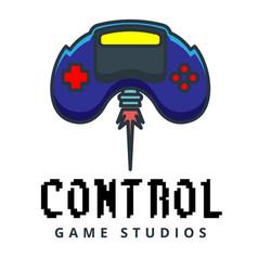 Control game studios joystick flies background vec vector