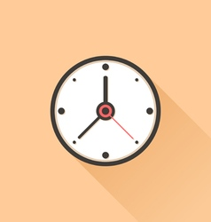 Watch flat vector image