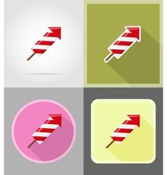 celebration flat icons 12 vector image