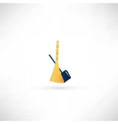 cleaning icon vector image