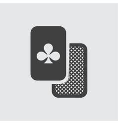 Clubs icon vector