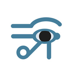 Eye of horus egypt deity eye of ra antique vector