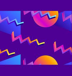 Futurism seamless pattern liquid shape in the vector