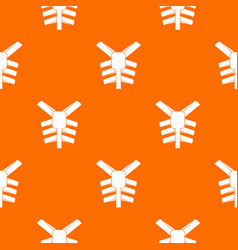 Human thorax pattern seamless vector