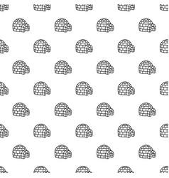 Igloo pattern seamless vector