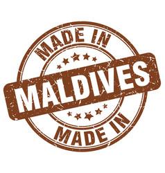 Made in maldives vector