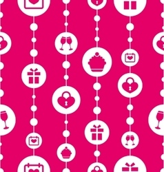 Seamless Pattern with Traditional Objects and vector image