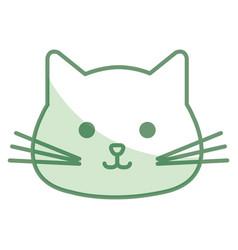 stuffed animal cat vector image